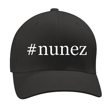 #nunez - A Nice Hashtag Mens Adult Baseball Hat Cap, Black, Small/