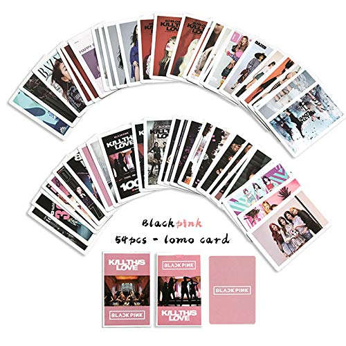 Blackpink 54pcs LOMO Cards - Merchandise of Postcards Kill This Love Gifts for BLINK Daughter (《Kill This Love》, 54pcs)