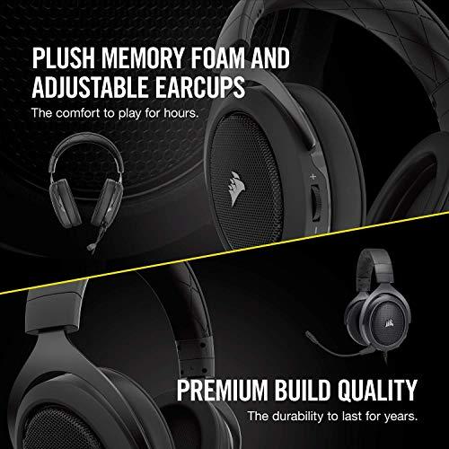 Corsair HS60 – 7 1 Virtual Surround Sound PC Gaming Headset