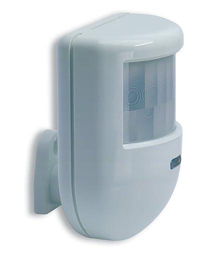 Detector de movimiento de doble tecnología infrarrojo y microondas IR10 Hiltron