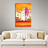 Art Wall 'Sunset' by Susi Franco Gallery Wrapped