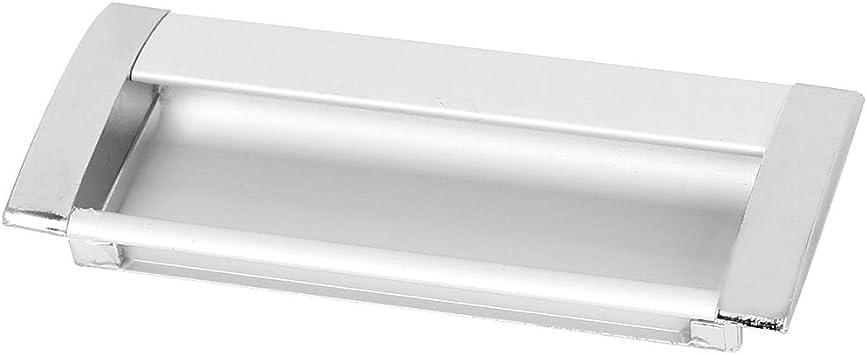 Aexit 108mmx43mm Aluminio Rectangular Empotrado Empuje al ras Tirador de la (model: Z6373IIVI-9906AE) puerta corredera Manija: Amazon.es: Bricolaje y herramientas