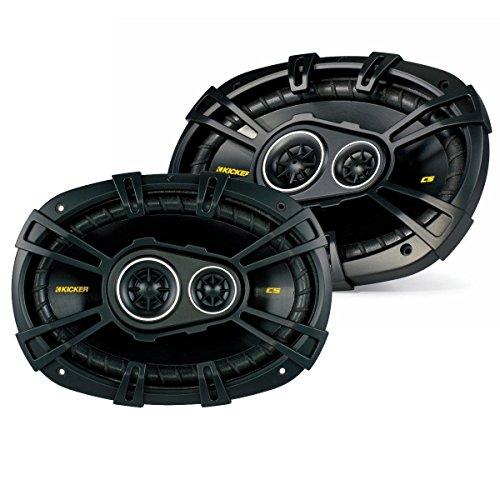 Kicker 40CS6934 6x9 inch 3-Way Speakers (3 Way Vehicle Speakers)