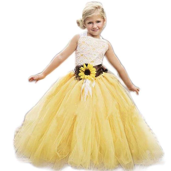 Amazon.com: luolandi - Vestido de primera comunión para ...