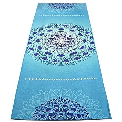 Shi18Sport Toalla De Yoga Toalla Microfibra Hot Yoga Mandala Toalla Impresa Resbalón Antideslizante Bolsillos De Esquina