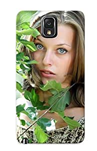 New Snap-on Podiumjiwrp Skin Case Cover Compatible With Galaxy Note 3- Girl Hiding Behind A Small Tree