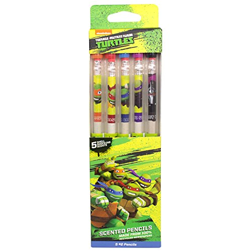 Teenage Mutant Ninja Turtles Smencils 5-Pack of Scented Pencils by Scentco
