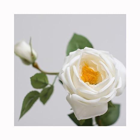 VIVI rosas Single ramas utilizado para decoración del hogar Boda Artificial flores