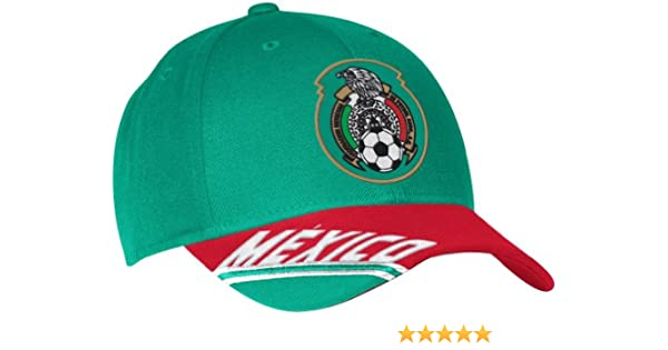 dcae48480a5d adidas Mexico Soccer 2014 FIFA World Cup Underline Script Adjustable Hat/Cap