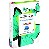 Hammermill Paper, Laser Print, 32lb, 11 x 17, Ledger, 98 Bright, 500 Sheets / 1 Ream (104653), Made In The USA