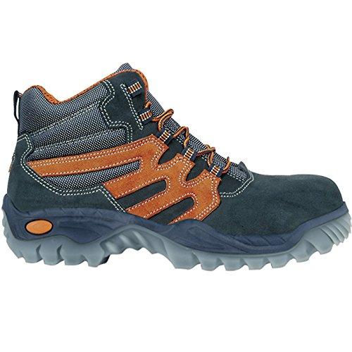 Cofra 75660–001.w40 Größe 40 S1 P SRC Tanz Sicherheit Schuhe – Schwarz Orange