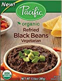 Pacific Natural Foods Organic Refried Black Beans Vegetarian -- 13.6 oz