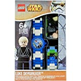 LEGO Watches Star Wars Luke Skywalker Kids Buildable Watch with Link Bracelet