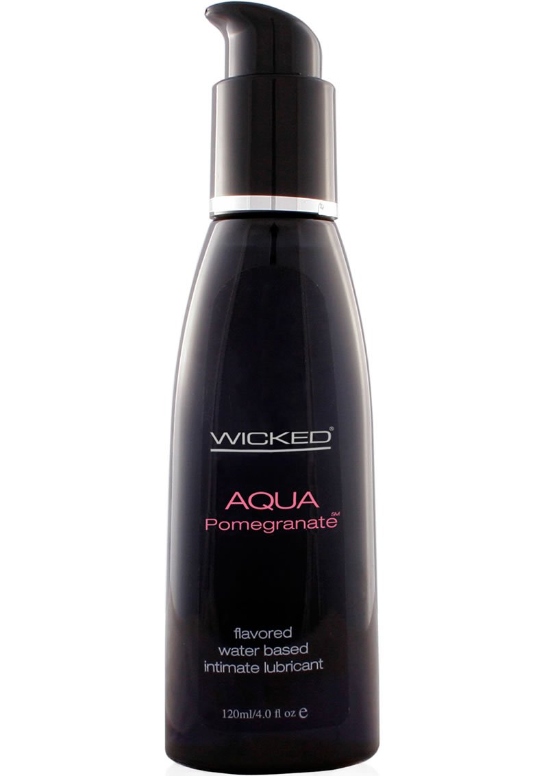 Top Rated - Wicked Aqua Pomegranate Lube 4 oz