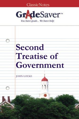 Second Treatise Of Government Summary GradeSaver