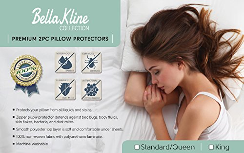 BELLA Premium Waterproof Pillow Protector product image