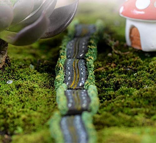 X1 Miniature Dollhouse Highway Garden Craft Fairy Doll Bonsai Plant DIY Decor @ ()