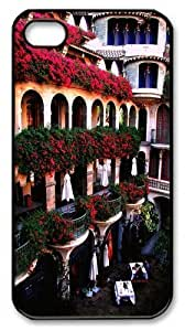 Balconies Riverside PC For Apple Iphone 4/4S Case Cover Black New Year gift