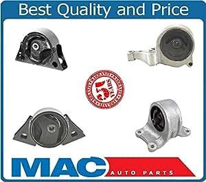 mac auto parts 25508 engine motor transmission mount kit 4 pieces fits 93 01 nissan. Black Bedroom Furniture Sets. Home Design Ideas