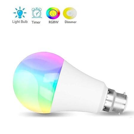 0 ℃ Outdoor Bombilla LED Inteligente WiFi, Regulable Funciona con ...