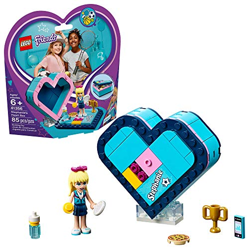 LEGO Friends Stephanie's Heart Box 41356 Building Kit , New 2019 (85 Piece)