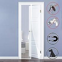 QH-Shop Mosquitera Puertas, Mosquitera Magnética Automático para Puertas Cortina de Sala de Estar la Puerta del Balcón