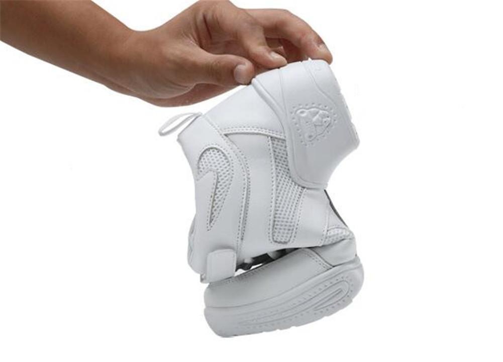 Frauen tanzen Schuhe Ledernetz Weiche Split-Sohle Jazz-Trainer Jazz-Trainer Jazz-Trainer Sport Größe 36 bis 40  Weiß leather  EU37 e52eb5