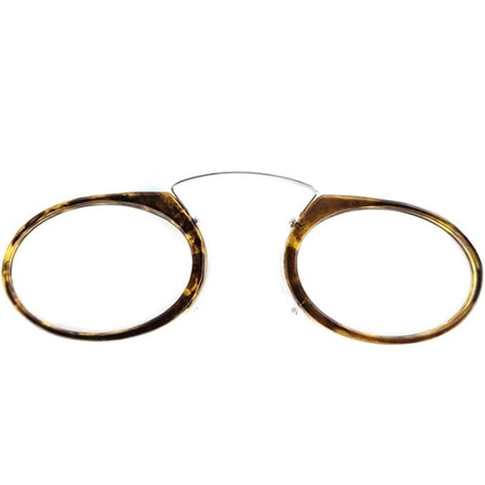 9e475d5fbb YUNCAT Gafas de lectura mixtas sin patillas Ovaladas transparentes hombre y  mujer flexibles e irrompibles para vista cansada. 5 colores y 6  graduaciones: ...