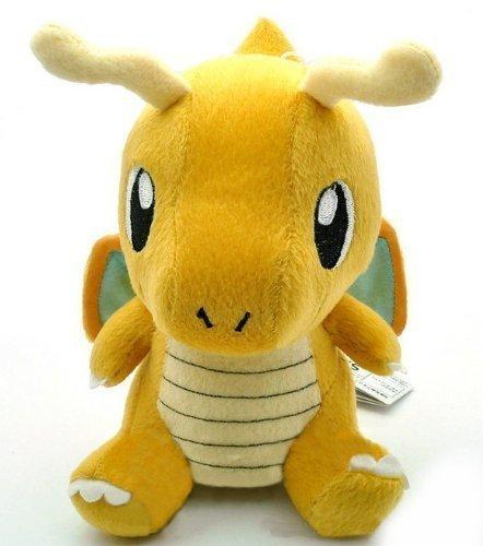 Pokemon-soft-toy-plush-figure-Dragonite-17-cm