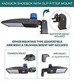 Kadision 150W LED Parking Lot Light with