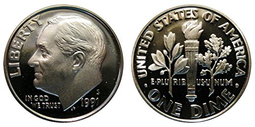 1991 S Proof Roosevelt Dime PF1