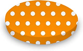 product image for SheetWorld Fitted Oval Crib Sheet (Stokke Sleepi) - Polka Dots Gold - Made In USA