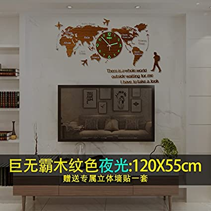 y hui the map of the world are quartz clocks wall clock with the clock