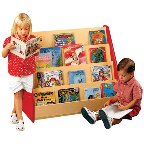 Nature Color Book Display - Red
