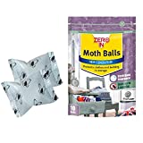 Zero In Moth Balls – Pack of 10 (Kills Moths, Larvae and Eggs, Odour-Free)