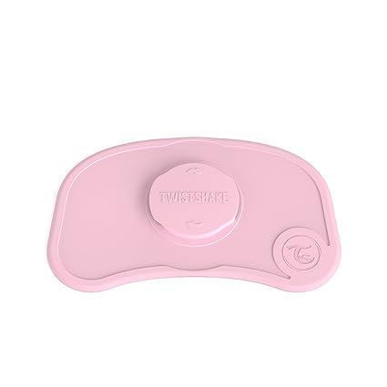 Twistshake 78333 - Juego de vajilla, color pastel rosa