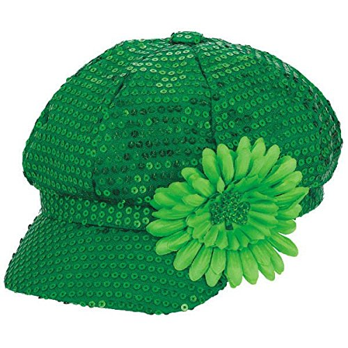 Green Sequin Day Hat