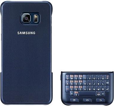 Samsung Key Board Cover - Funda con teclado para Galaxy S6 Edge Plus, color negro- Versión Extranjera