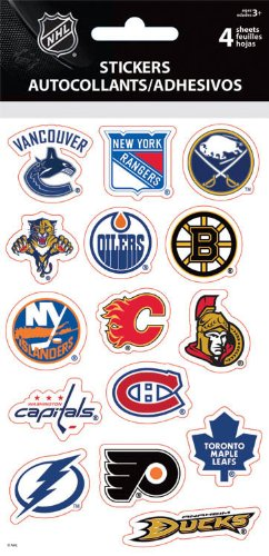 Nhl Sticker Sheet - 3