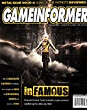 GameInformer #183 - Infamous - Metal Gear Solid 4 - July 2008