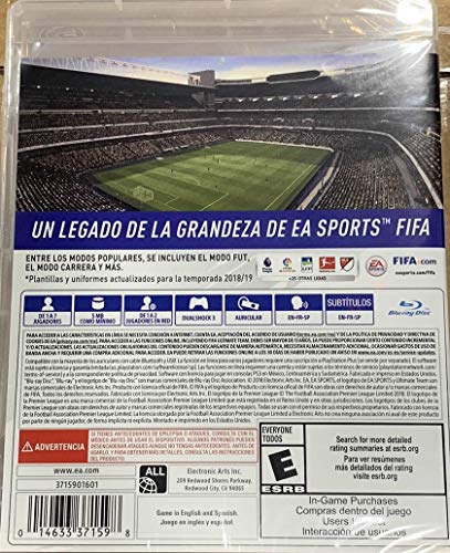 FIFA 19 Legacy Edition (PS3) by Electronic Arts (Image #1)