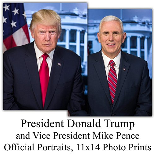 president-trump-and-vice-president-pence-portraits-11x14-unframed-prints