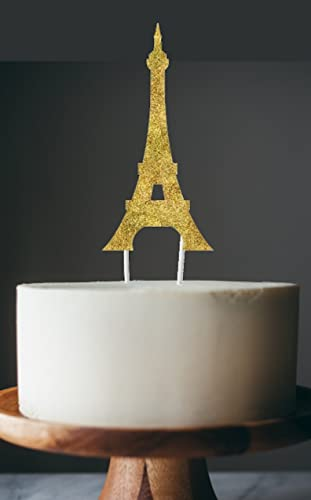 Amazoncom Paris birthday cake topper Eiffel tower cake topper