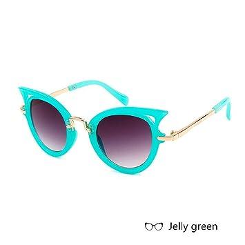 WZYMNTYJ Gafas de Sol para niños Chicas Ojo de Gato Lindo ...