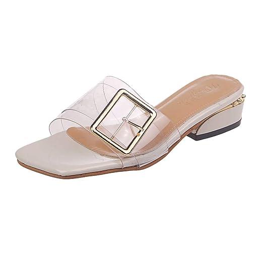 c15548fe4730c Amazon.com: Fainosmny Womens Shoes Open Toe Sandals Summer High Heel ...
