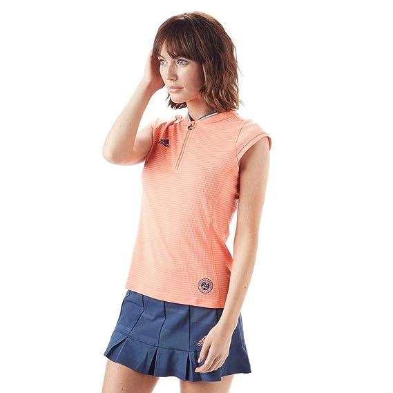 Adidas Roland Garros Ballgirls Polo Women FS18 Gr. M: Amazon