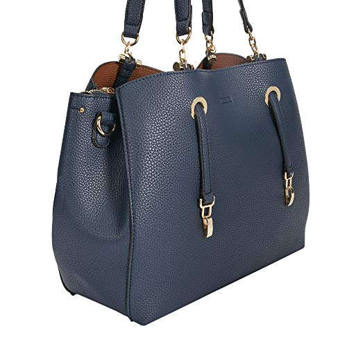 Zucca Marino Mujeres Shopper Azul Parfois Bolso 1qpEwwOg