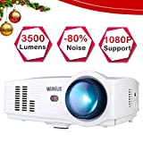 Best Hd Home Theater Multimedia Lcd Led Projectors - Projector, WiMiUS T4 3500 Lumens 5.8 Inch LCD Review