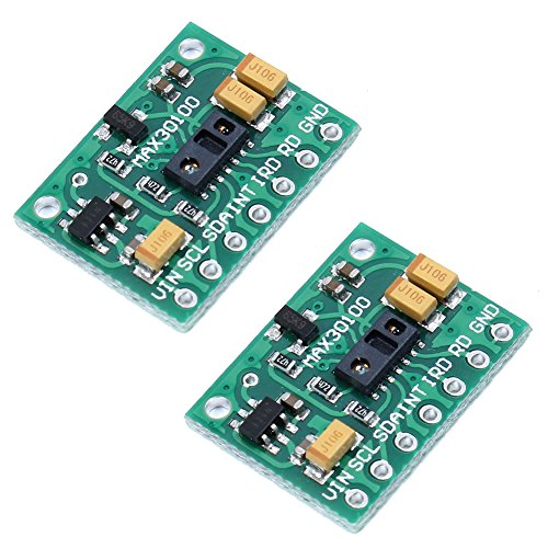 Icstation MAX30100 Pulse Oximeter Heart Rate Sensor Development Board for Arduino (Pack of - Epacket Rates