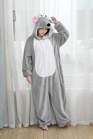 Pijamas Unisex Pijamas de Animales Adultos Franela Animal de ...